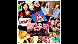 YOUTUBE SCAMMERS EXPOSED PART 2/ Domo and Crissy, The Bells Plus Two, Daily Davidsons, IAMPOSH....