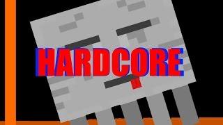 Minecraft Hardcore - Nether, ghast's, hjälp mig :( - V:2 E:2
