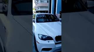El Dofre Saliendo De Extremo A Extremo En La BMW X6 M 2018