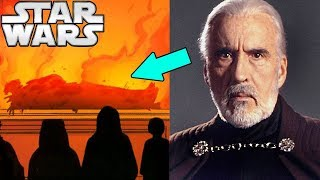 Why Count Dooku WASN'T at Qui-Gon's Funeral - Star Wars Explained