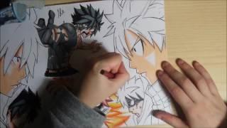 Speed drawing - Gray VS Natsu