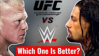 WWE Vs UFC Which One Is better? WWE Wrestler Vs Ufc Fighter Who will win? Comparison Of Ufc And wwe