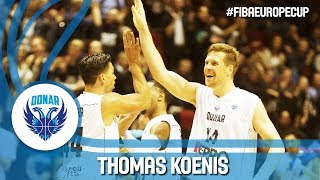 Thomas Koenis (25pts 5reb & 5ast) could not be stopped by Keravnos!