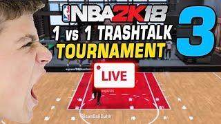 NBA 2K18 LIVE 1 vs 1 Tournament! #3 11/05/2017