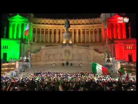 Centocinquanta Anni Italia l Inno di Mameli