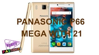 Panasonic P66 Mega With 21 Indian Language Support Launched || Pastimers