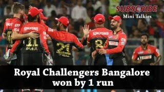 Last over thriller ipl 2016---RCB vs (KXIP)Punjab highlights match 39 Kings XI Punjab vs Bangalore