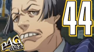 ★☂Persona 4 Golden☂★ - VERY HARD - Blind Playthrough Part 44 ★Vacation Cancelled★