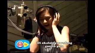 Sing a long with Sarah Geronimo, the ABS CBN TV Plus ambassador
