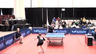 2010 National Championships - Men Singles Quarterfinals - Michael Landers vs Ilija Lupulesku