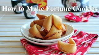 How to Make Fortune Cookies -  The Best Fortune Cookies that you