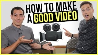 How To Make A Good YouTube Video