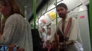 U2, I Still Haven't Found What I'm Looking For - Busking in the streets of London, UK