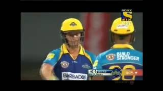 AB de Villiers made 82 (54) vs St Kitts and Nevis Patriots CPL 2016 highlights