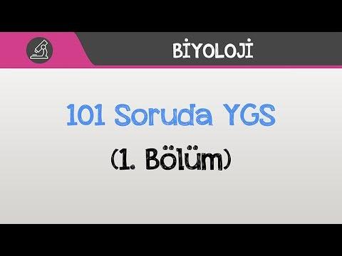 101 Soruda YGS Biyoloji - (1. Bölüm)