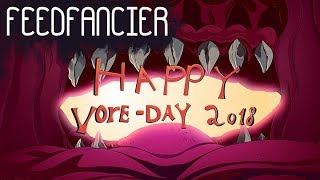 feedfanicer's Happy Vore-Day 2018 animation