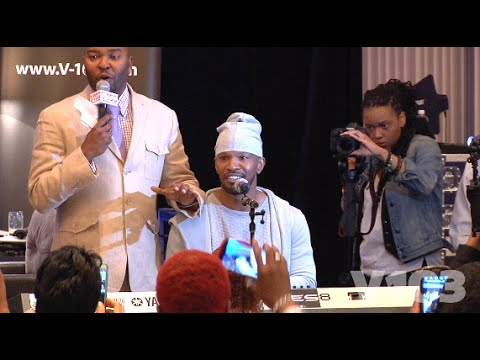 Jamie Foxx Channels Prince Babyface Luther Vandross More In Exclusive Performance