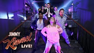 Guest Host Channing Tatum Dances His Way onto Kimmel