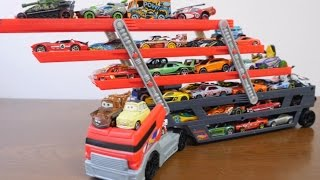 50 mega trailer toy Disney Cars & Hot Wheels