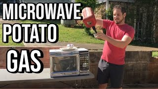 Fastest way to microwave a potato cooking tips with Uncle Rob
