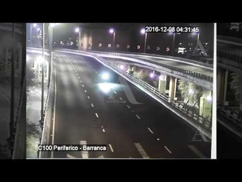 Así fue el mortal accidente de motociclistas en el segundo piso del Periférico - Aristegui Noticias