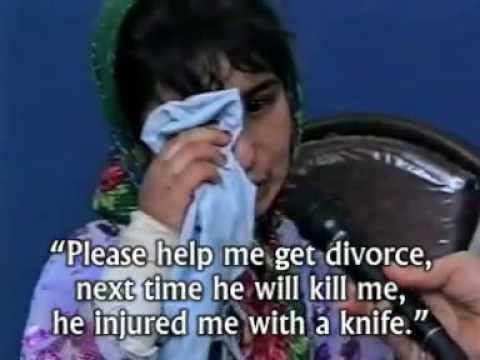 12-y-old girl in Afghanistan victim of violence by husband.flv