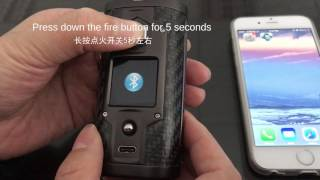 SXmini G Class how to connect bluetooth etc.  tutorial