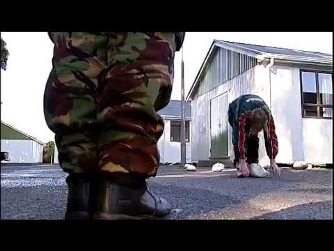 Unruly teens learn lessons at bootcamp