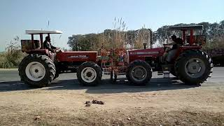 NEW HOLLAND 7056 VS MASSEY 385 4WD Tractors in pakistan