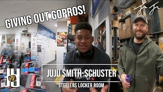 JuJu Surprised his Teammates with a Gift!