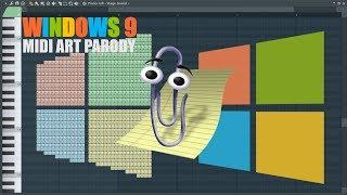 Windows 9 Midi Art (Parody)