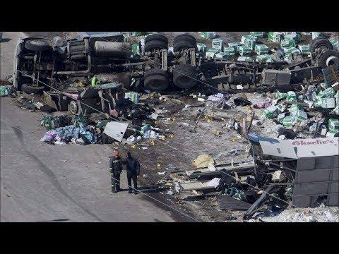 Cause of Broncos bus crash still unknown: RCMP