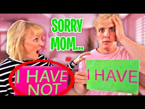 NEVER HAVE I EVER vs. MY MOM Jake Paul