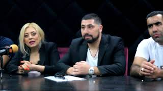 Ararat Fight League 1 - press conference & weigh ins - Yerevan, July 6, 2018