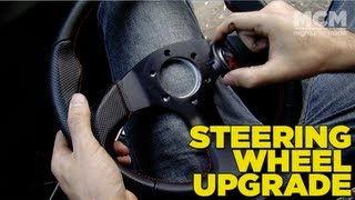 Mighty Car Mods - How To Change Your Steering Wheel