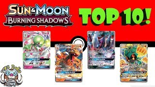 Top 10 Pokémon Cards from Burning Shadows!