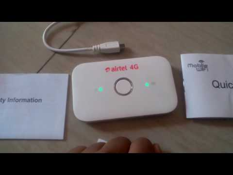Xxx Mp4 Unbox Airtel 4G Wif Router HUAWEI And User Guide 3gp Sex