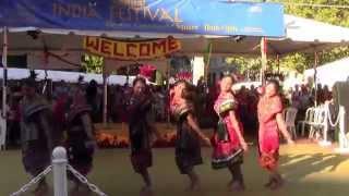 Sambalpuri dance at India Day 2014 in Portland OR