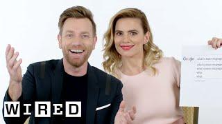 Ewan McGregor & Hayley Atwell Answer the Web