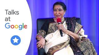 "Asha Bhosle, feat. Zanai Bhosle: ""Living Legend visits Google"" | Talks at Google"