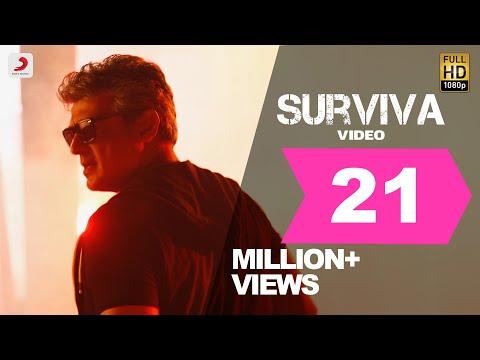 Xxx Mp4 Vivegam Surviva Official Song Video Ajith Kumar Anirudh Siva 3gp Sex
