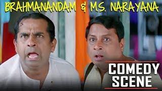 Brahmanandam & M.S. Narayana Hindi Dubbed Comedy Scene   Meri Zindagi Agneepath Hilarious Scenes