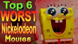 Top 6 Worst Nickelodeon Movies