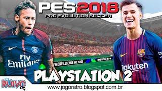 Pro Evolution Soccer 2018 (PES 2018 CHAMPIONSHIP Atualizado) no Playstation 2