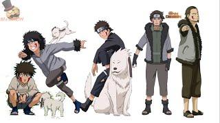 Naruto Characters: Kiba Inuzuka