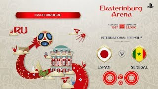 Japan - Senegal,  FIFA 18 World Cup 2018 Russia Prediction Games (Group H)