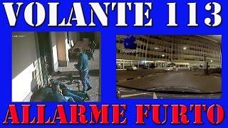 FURTI IN VILLA, BANDA DI LADRI: ARRESTO IN DIRETTA VIDEO -VOLANTE 113