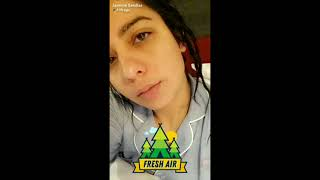 Only +18 (Hot)   Jasmein sandles Snapchat new video    desi mms  xxx