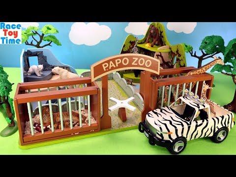 Xxx Mp4 Animal Zoo Papo Playset Plus Fun Wildlife Animals Toys For Kids 3gp Sex
