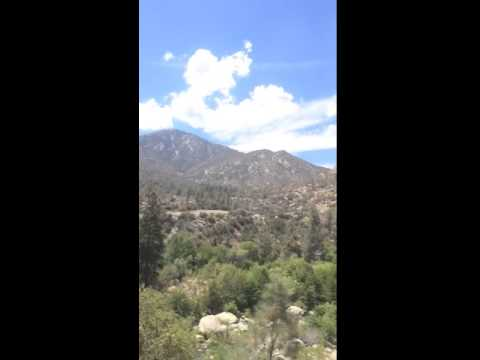 Driving by the kern river